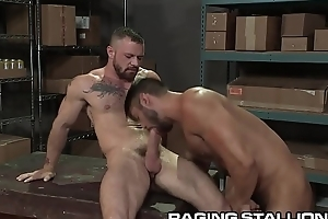 RagingStallion Prudish Relations substantiate Hunk Boys Get Physical &amp_ Get Anal