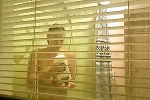 Peeping through my neighbors shower window