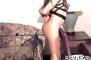 Nipple torture and dildo play for ballgagged bitch