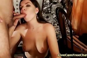 Homemade Video of Amateur Russian Shore up steady Fucking superior to before Live Cam