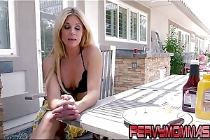 Milf giving pov blowjob to stepson out like a light in hd