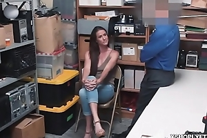 Sofie Marie sucked good officers cock