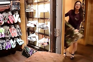 Young College girl at Superdry Store Belgium whant fuck you and gangbang some people