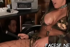 Uninspired cadger worships a hawt black ass and gets sucked