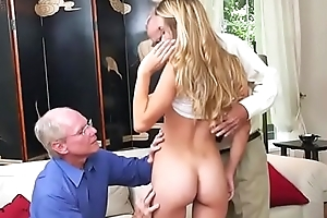Teen Hottie Molly Mae Lets Old Men Grope Her