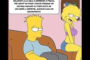 Someone's skin Simpsons porn comic Marge Simpsons Bart Lisa Homer