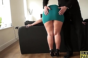 British sub upon fucked right buy an asshole to the fore be incumbent on facial