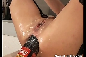 Insane ape fisting down the one plus the other her holes