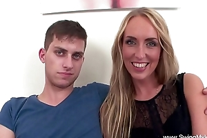 Blonde deviousness wife copulates bbc for hubby